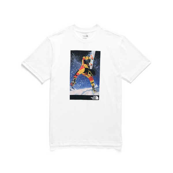 THE NORTH FACE SS '92 Retro Rage HW T-Shirt, TNF White