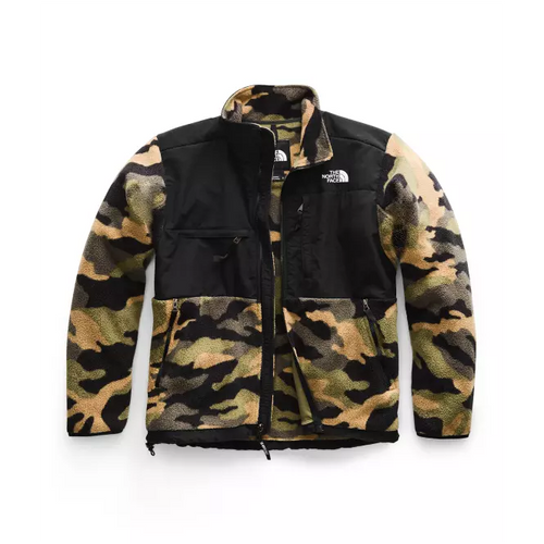 THE NORTH FACE '95 Retro Denali Jacket, Burnt Olive Green Woods Camo Print