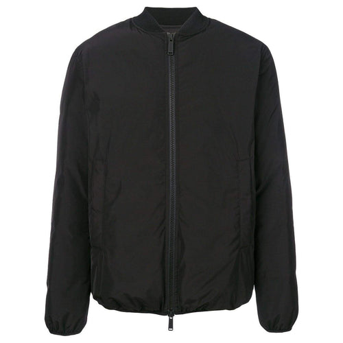 DSQAURED2 ICON Print Bomber Jacket, Black-OZNICO