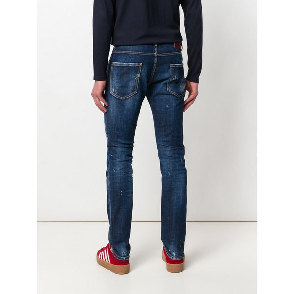 DSQUARED2 5 Pocket 'Cool Guy' Jeans, Dark Wash-OZNICO