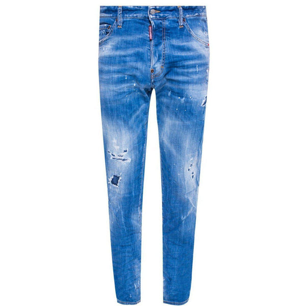 DSQUARED2 5 Pocket 'Cool Guy' Jeans, Medium Wash-OZNICO