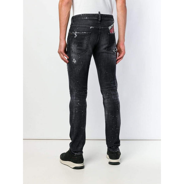 DSQUARED2 5 Pocket 'Our Best Fantasy' Jeans, Dark Wash-OZNICO