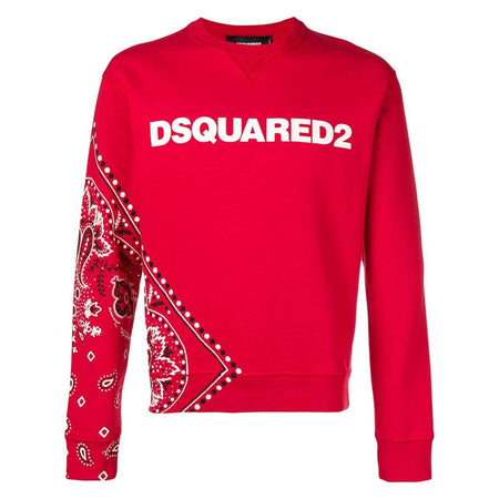 DSQUARED2 Logo Patch Hooded Sweatshirt, Black