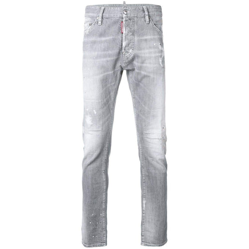 DSQUARED2 Cool Guy Lightly Distressed 5 Pocket Jeans, Grey-OZNICO