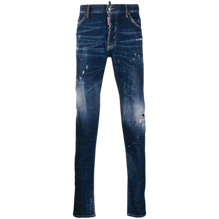 DSQUARED2 5 Pocket 'Our Best Fantasy' Jeans, Dark Wash