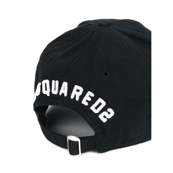 DSQUARED2 Icon Baseball Cap, Black-OZNICO