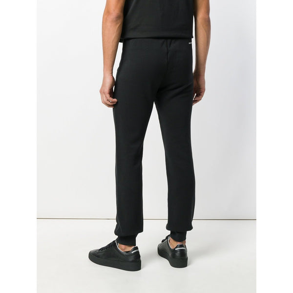 DSQUARED2 Icon Logo Track Pants, Black-OZNICO
