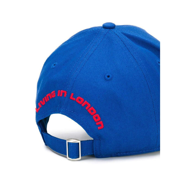 DSQUARED2 Logo Baseball Cap, Royal Blue-OZNICO
