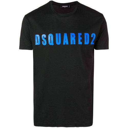 DSQUARED2 Logo Print T-Shirt, Black-OZNICO
