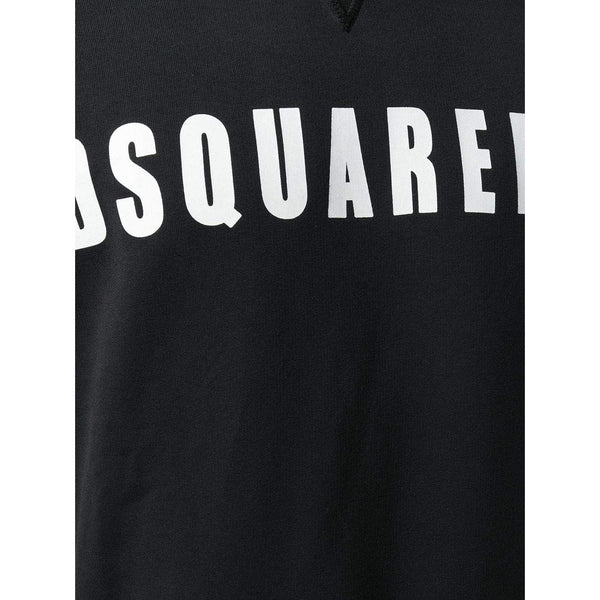DSQUARED2 Logo Sweatshirt, Black-OZNICO