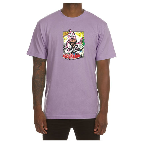 ICECREAM Stomp SS T-Shirt, Grape Shake