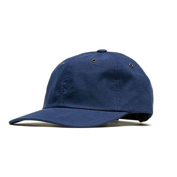 STUSSY SS-Link Ripstop Low Pro Cap, Navy-OZNICO