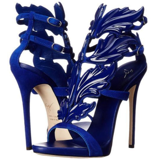 exquisite style autumn shoes new arrival GIUSEPPE ZANOTTI Coline Cruel Wing High Heel Sandals, Setter Blue ...