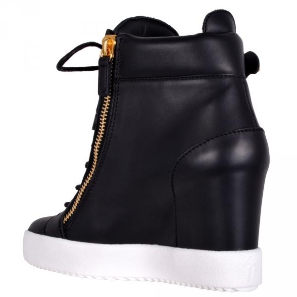 GIUSEPPE ZANOTTI Lamay Lorenz Women's High Top Sneaker, Birel/ Vague-OZNICO