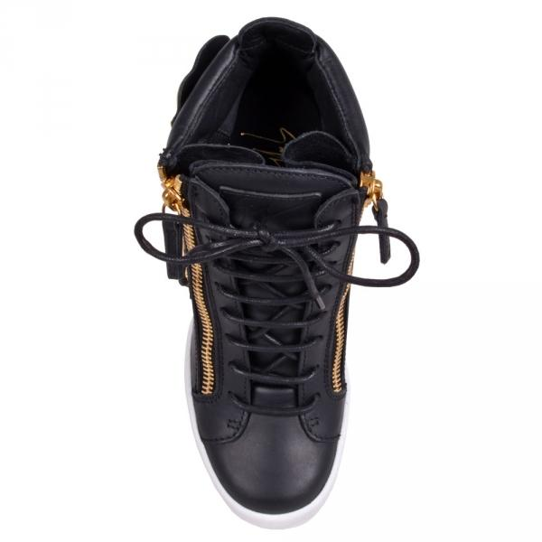 47fd7d9655333 ... GIUSEPPE ZANOTTI Lamay Lorenz Women's High Top Sneaker, Birel/  Vague-OZNICO