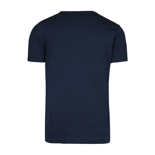 ICEBERG Embroidered Logo T-Shirt, Navy-OZNICO