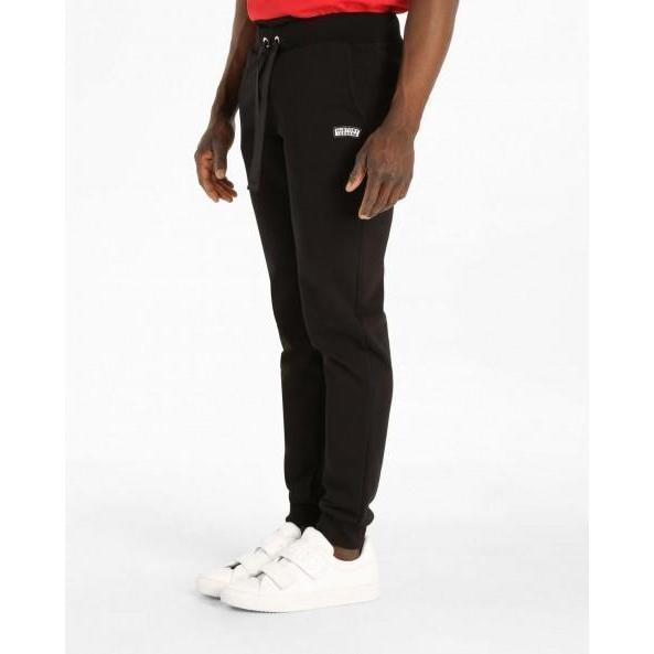 ICEBERG History Jogging Bottoms, Black-OZNICO