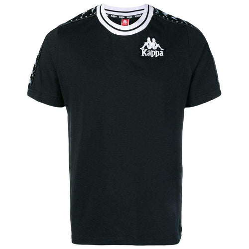 KAPPA Authentic Anchen T-shirt, Black-OZNICO