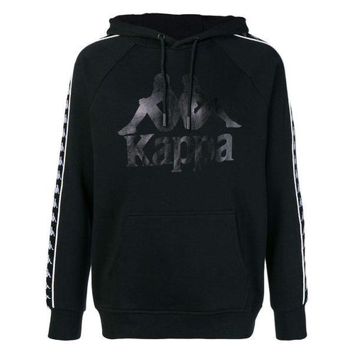 KAPPA Authentic Hurtado Hoodie, Black-OZNICO