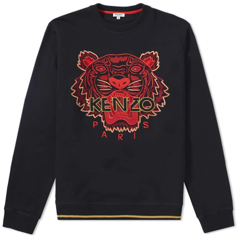 8961ccdfdf KENZO 'Chinese NY Capsule Collection' Tiger Sweatshirt