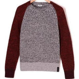 KENZO Colorblocked Knitted Sweater-OZNICO