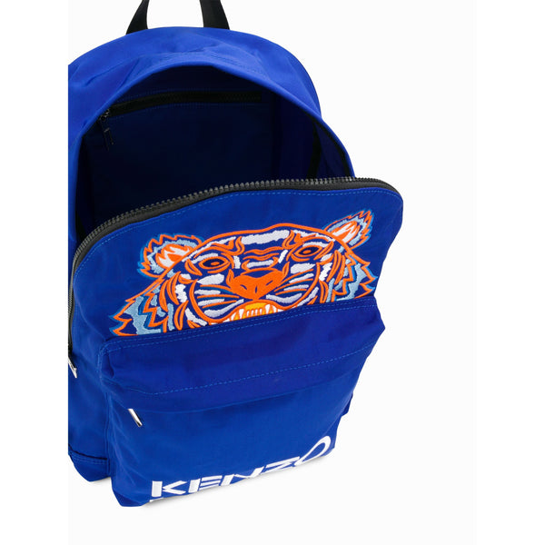 KENZO Large Tiger Backpack, French Blue