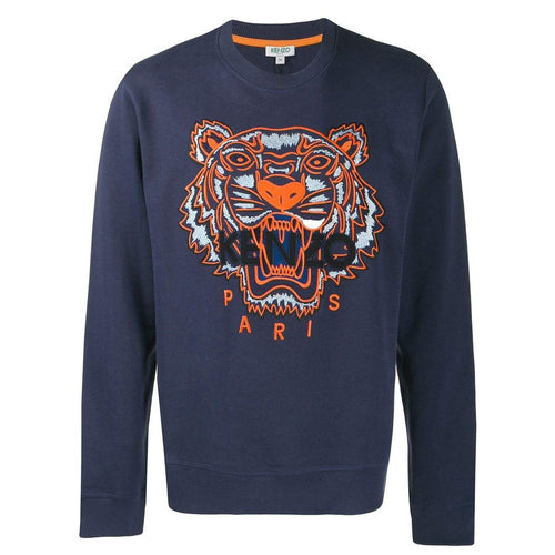 KENZO Embroidered Tiger Sweatshirt, Ink-OZNICO