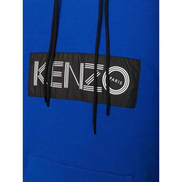 KENZO Logo Color-block Sweatshirt, French Blue-OZNICO