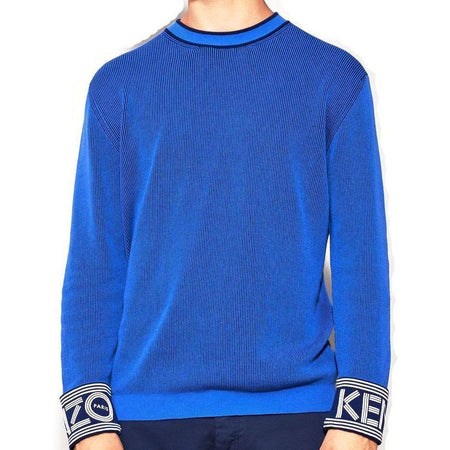 KENZO Colorblocked Knitted Sweater