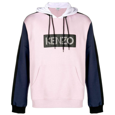 KENZO Logo Color-block Sweatshirt, White