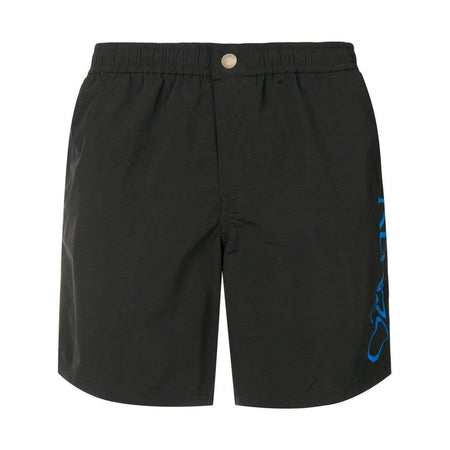 KENZO Logo Swim Shorts, Medium Red