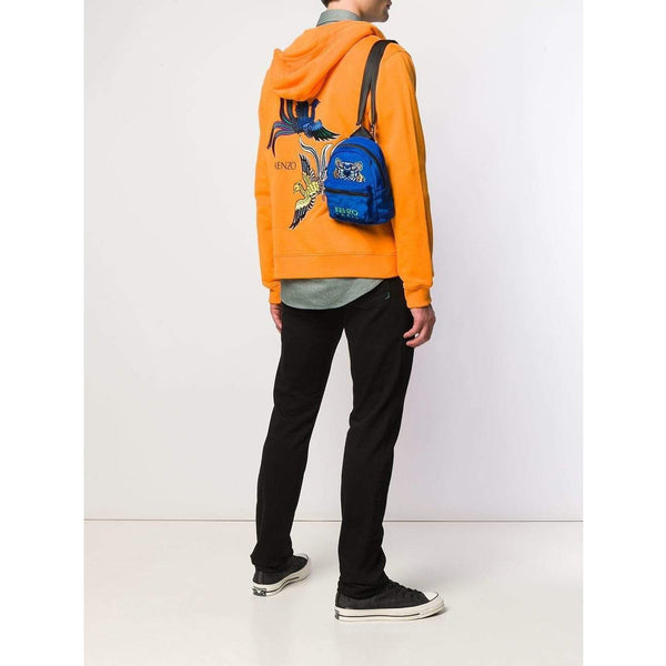 KENZO Mini Tiger Canvas Backpack, Cobalt-OZNICO