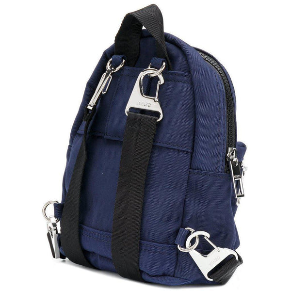 KENZO Mini Tiger Canvas Backpack, Navy Blue-OZNICO