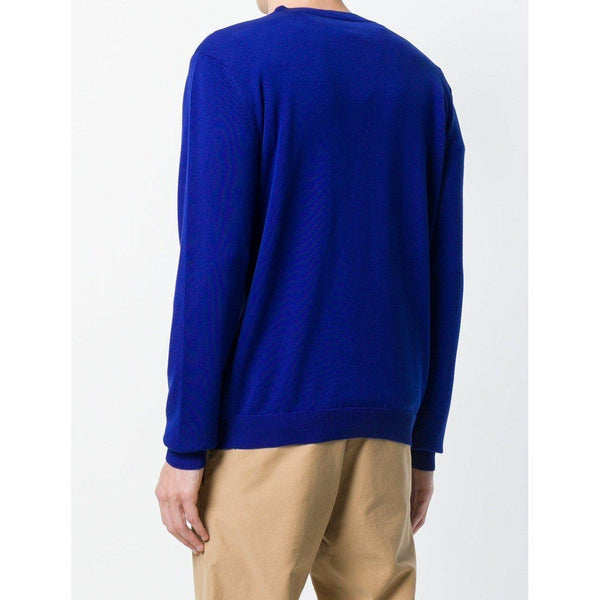 KENZO Paris Knit Sweater, French Blue-OZNICO