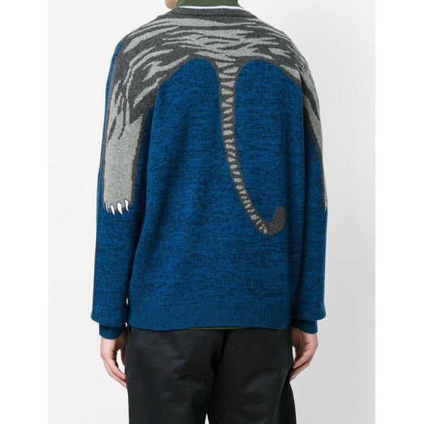 KENZO Striped Tiger Sweater-OZNICO