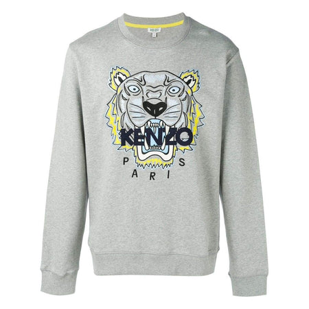 KENZO Fitted Embroidered Polo, Sky Blue