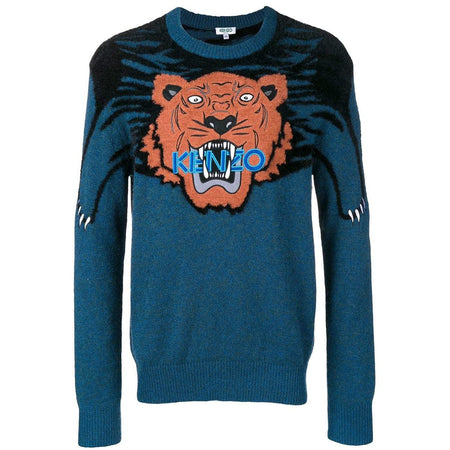 KENZO Bamboo Tiger T-Shirt, French Blue