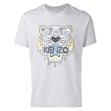 KENZO Two-Tone Tiger T-Shirt, Medium Red