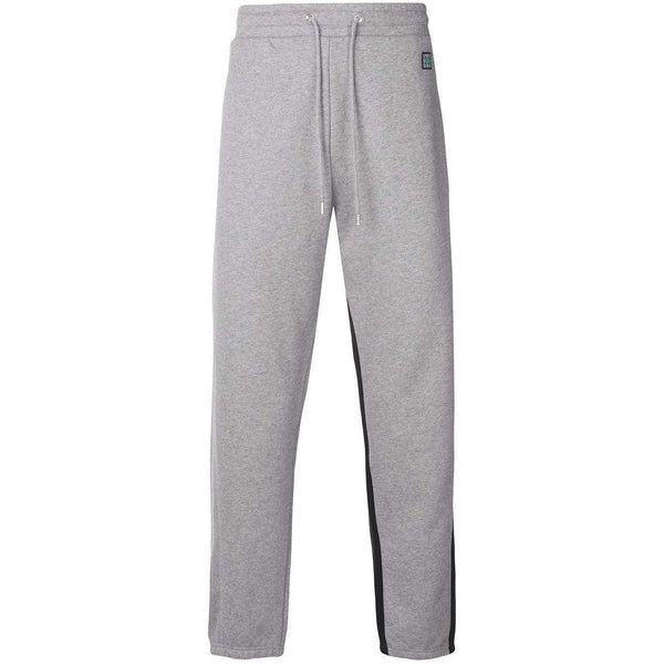 KENZO Two Tone Sweatpants, Grey/ Black-OZNICO
