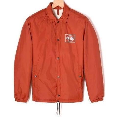 KENZO World Coach Jacket, Deep Orange-OZNICO