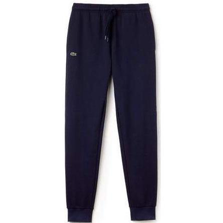 LACOSTE Sport Cotton Sweatpants, Navy Blue-OZNICO