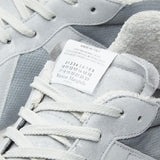 MAISON MARGIELA 22 Painted Retro Runner Sneaker, Grey/ White-OZNICO