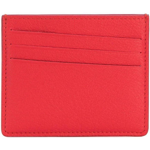 MAISON MARGIELA Credit Card Holder, Red-OZNICO