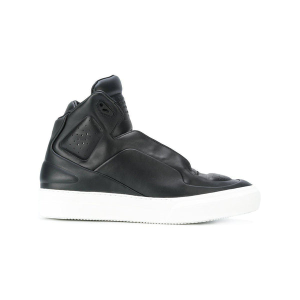 MAISON MARGIELA Hi Top Sneakers, Black-OZNICO
