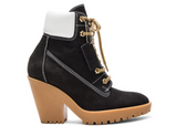 MAISON MARGIELA Lace Up Suede Booties, Black-OZNICO