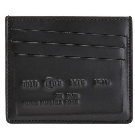 MCM Color Visetos Zip Around Wallet, Black