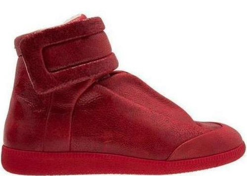 MAISON MARGIELA Men's Future Hi-Top Sneaker, Red-OZNICO