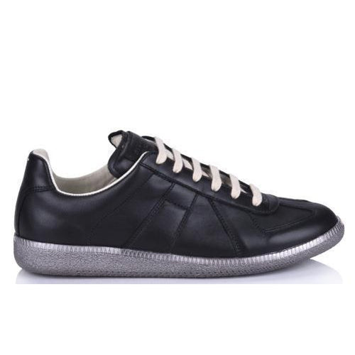 MAISON MARGIELA Mens Replica Low, Black-OZNICO