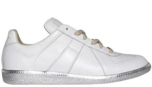 MAISON MARGIELA Mens Replica Low, White-OZNICO