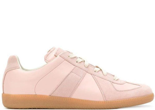 MAISON MARGIELA Replica Low Trainer, Pink-OZNICO